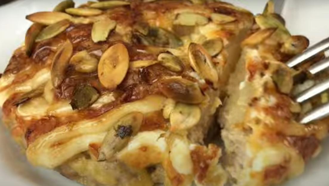 """Невероятно вкусное мясное блюдо """"Миланская шубка"""""""