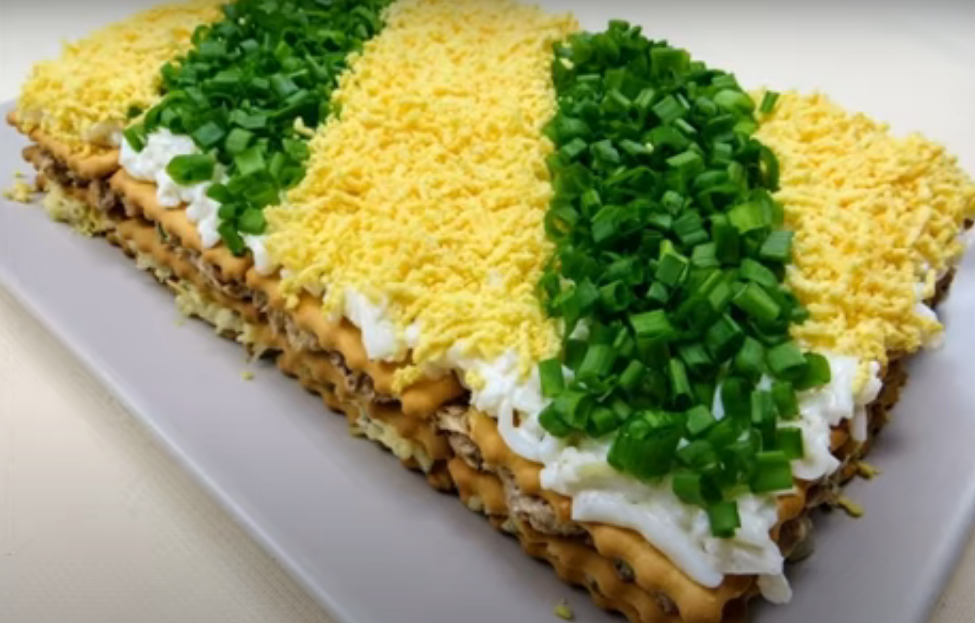 Торт-салат к праздничному столу