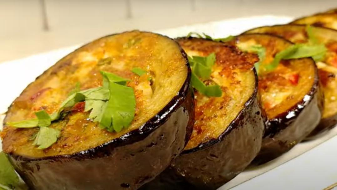 Потрясающее блюдо с баклажанами