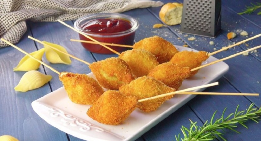 Хрустящие ракушки с нежной начинкой: интересная горячая закуска