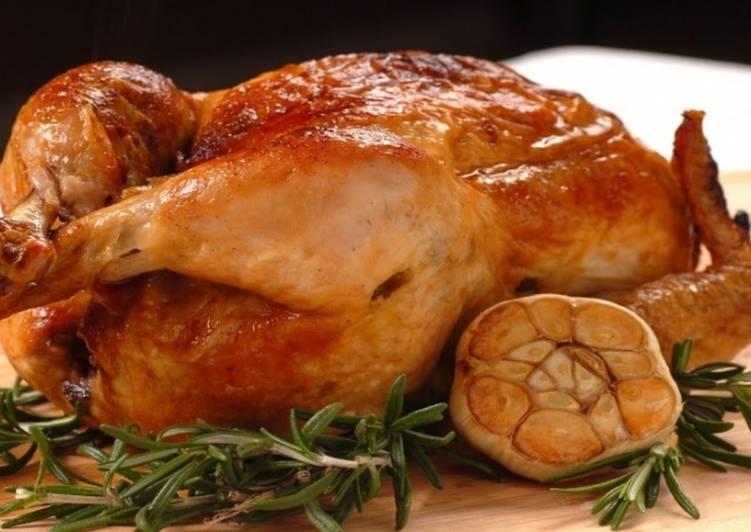 Безумно вкусная курица в духовке