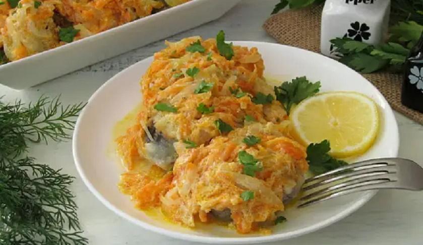 Рыбка под маринадом из сметаны: вам понравится