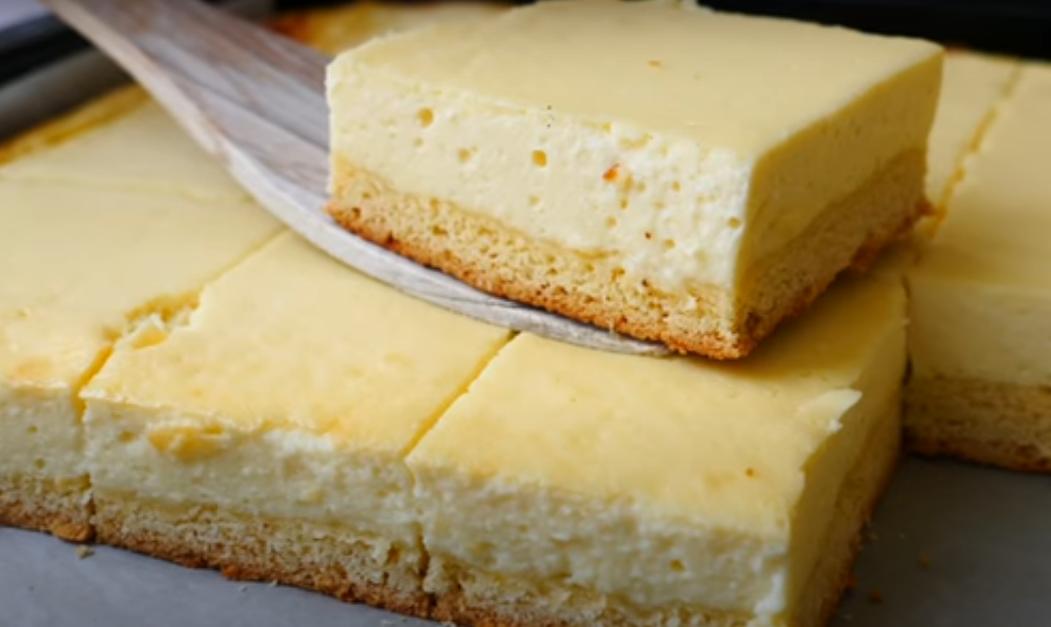 Пирог - сырник: быстро и вкусно