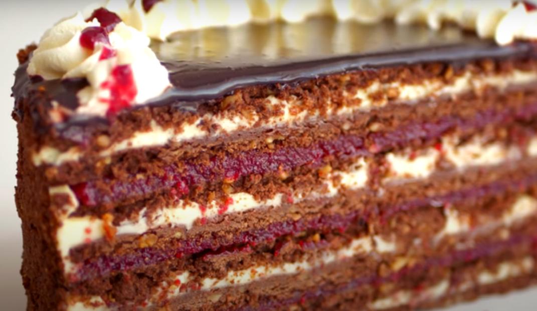 """Песочный торт """"Ностальгия"""""""