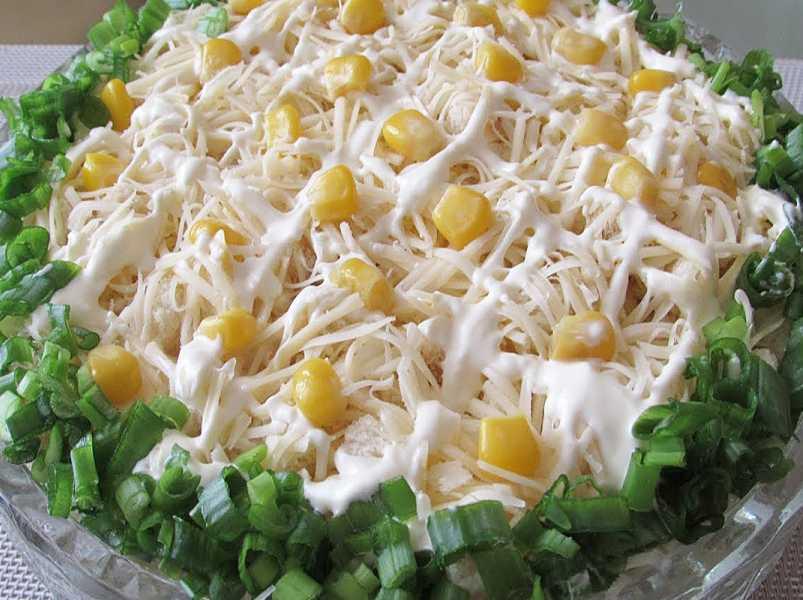 Быстрый и легкий салатик