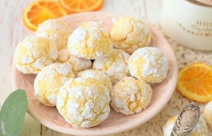 Очень вкусное миндально-апельсиновое печенье
