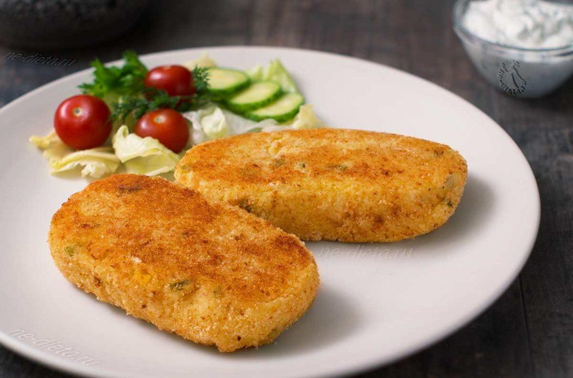 Картофельные котлеты: просто и вкусно