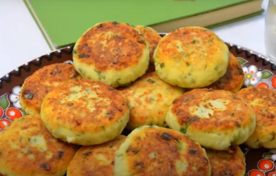 Сырники из творога с картофелем