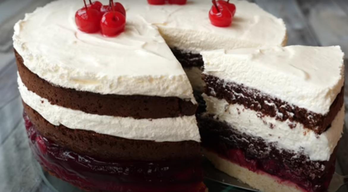 """Шикарный торт """"Черный лес"""""""