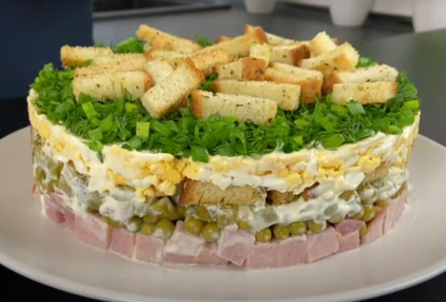 """Вкуснейший салат """"Незабудка"""""""