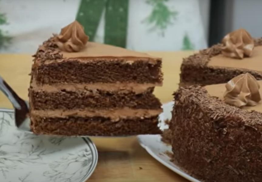 """Шоколадный торт """"Трюфельный"""""""