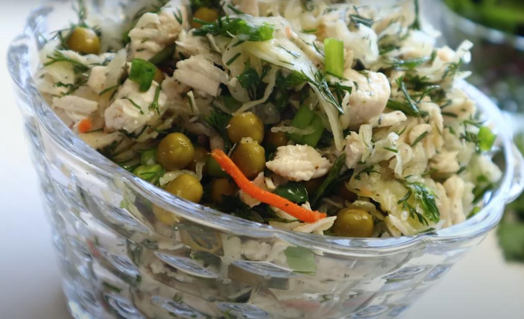 Два гениальных диетичеких салата