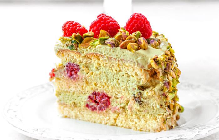 Восхитительно вкусный фисташковый торт