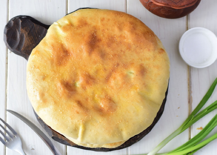Вкуснейшие хачапури с творогом и зеленью