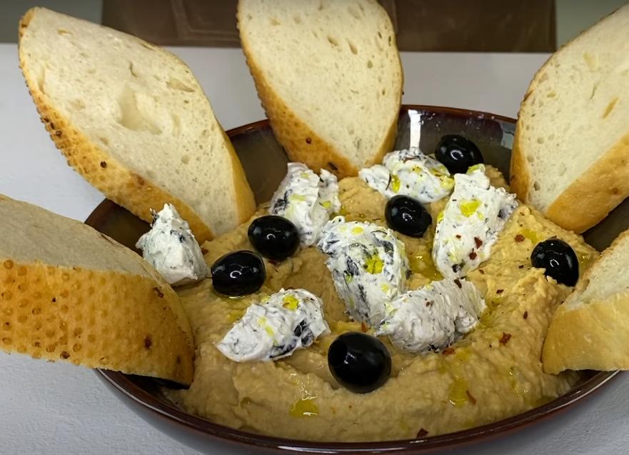 Хумус по-гречески: рецепт с изюминкой