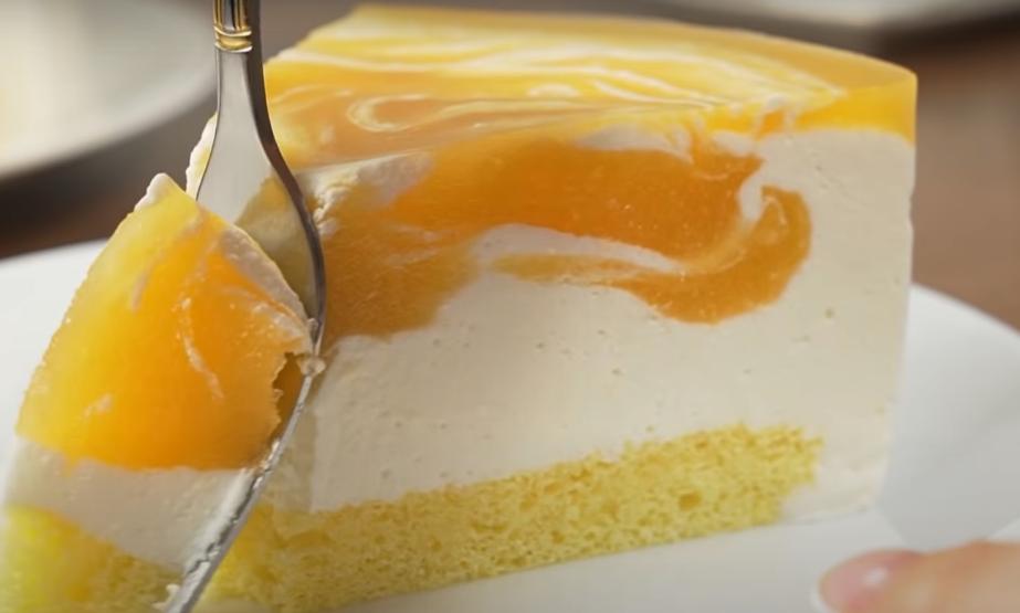 """Невероятно вкусный тортик """"Солнечная вьюга"""""""