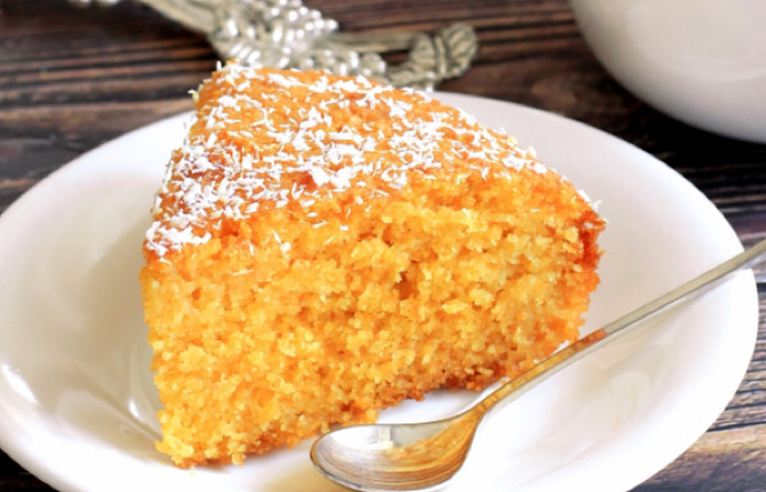 Обалденный морковный пирог на молоке