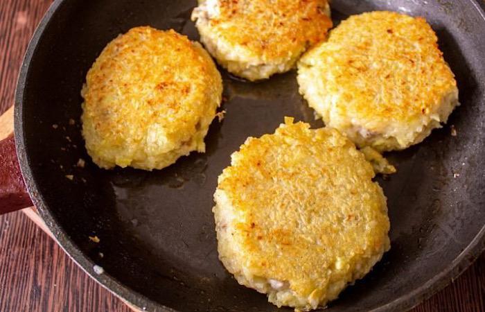 Бесподобные куриные оладьи с картофелем