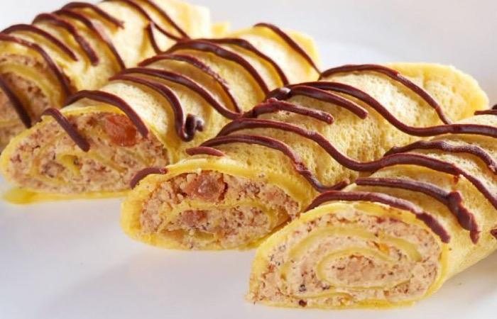 Вкуснейшая ореховая начинка для блинчиков