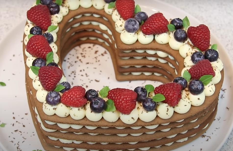 """Универсальный торт """"Сердце"""""""