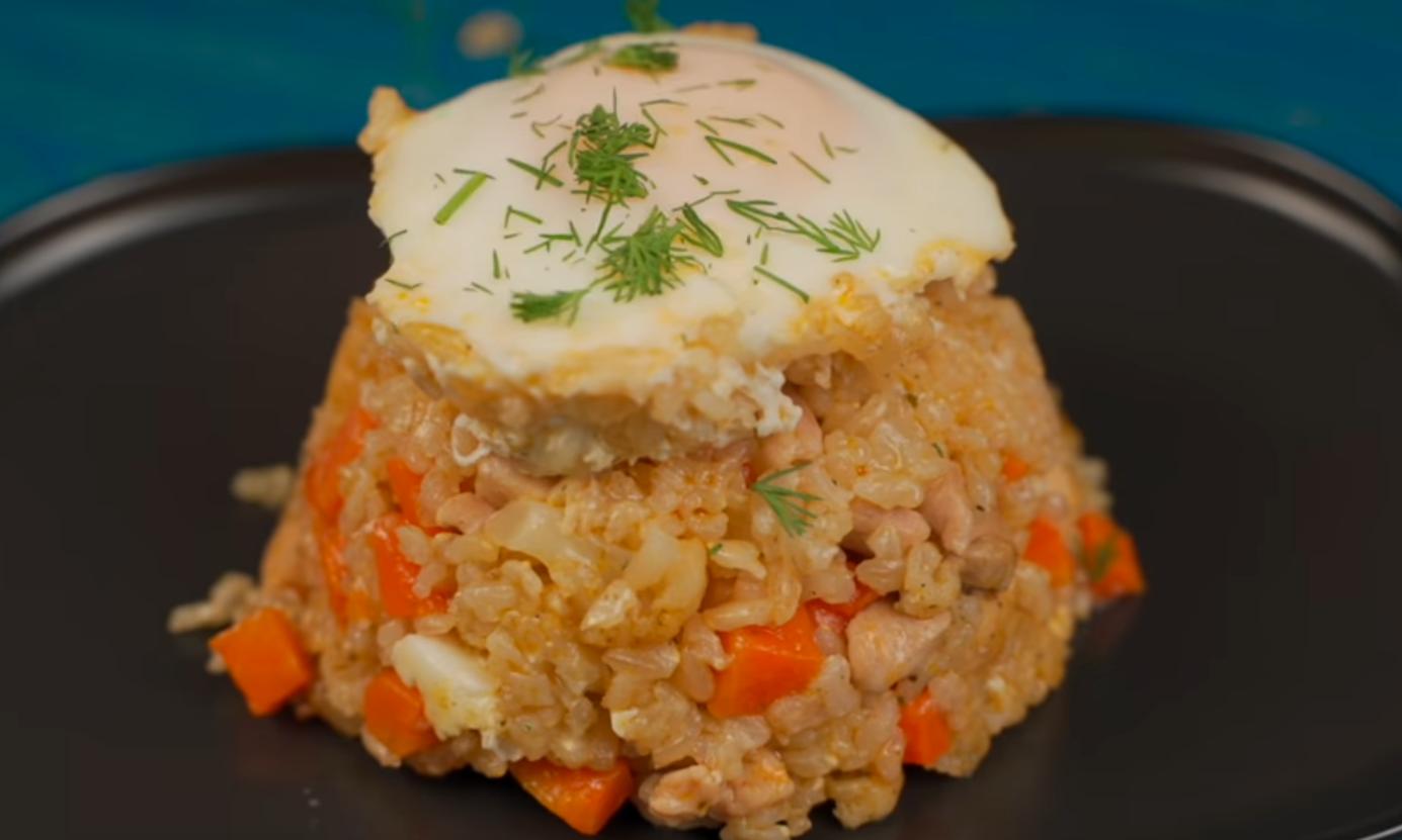 Лучшее блюдо с рисом и куриным филе