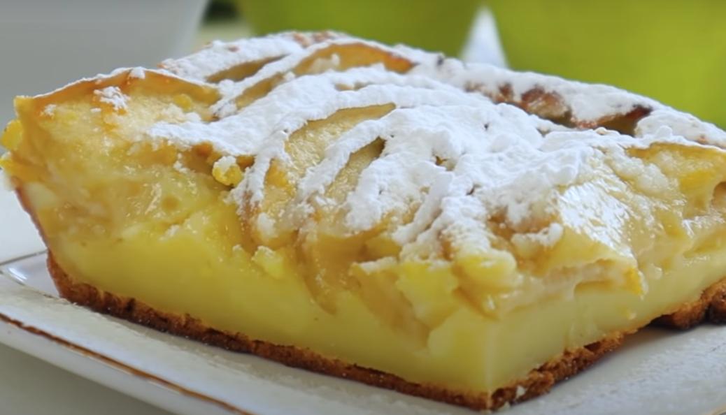 """Шикарный французский десерт """"Клафути"""" с яблоками"""