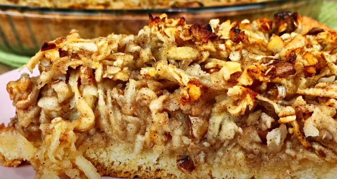 Забытый рецепт орехового пирога