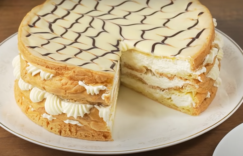 """Самый нежный торт """"Эклерчик"""""""