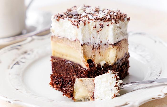 Вкуснейший бананово-кофейный тортик