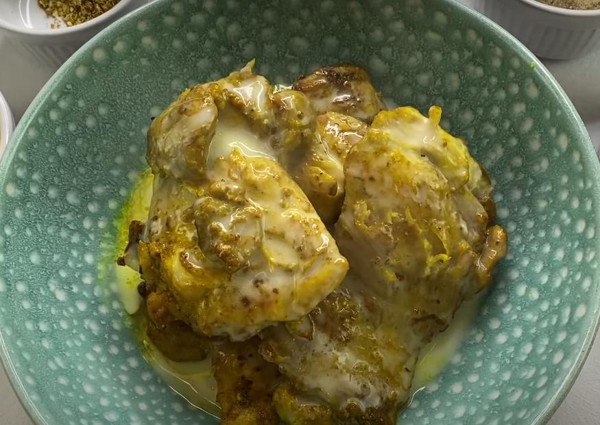 Сочная курица в сливочном соусе