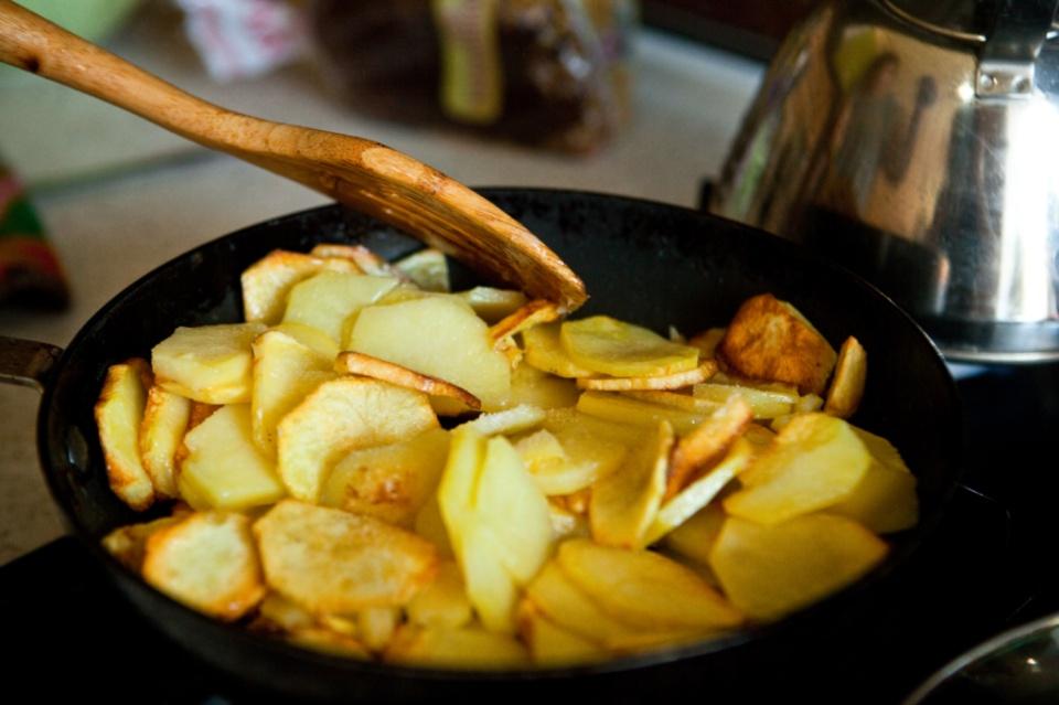 Вкусный жареный картофель