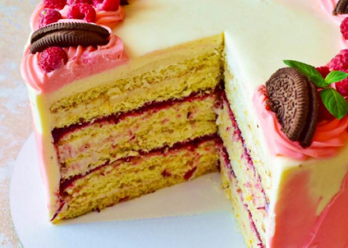 """Восхитительно вкусный тортик """"Молочная девочка"""" с конфи"""