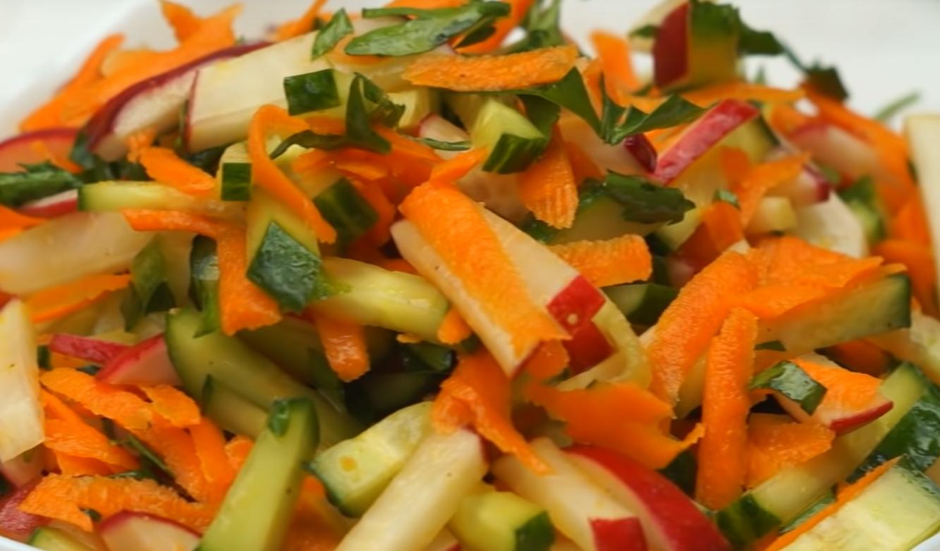 5 салатов с простой редиской