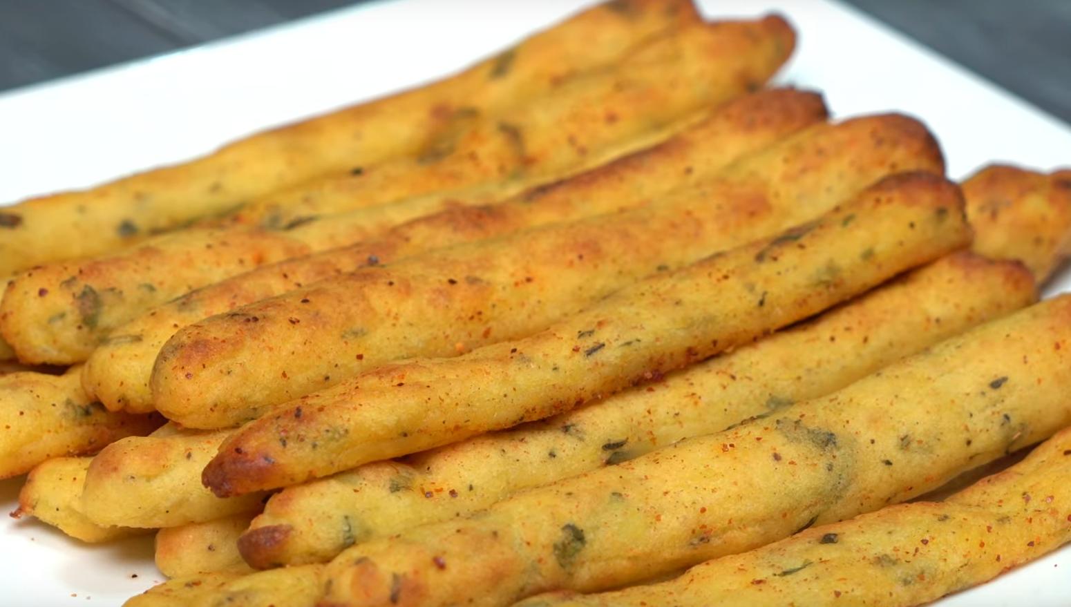 Потрясающие картофельные палочки
