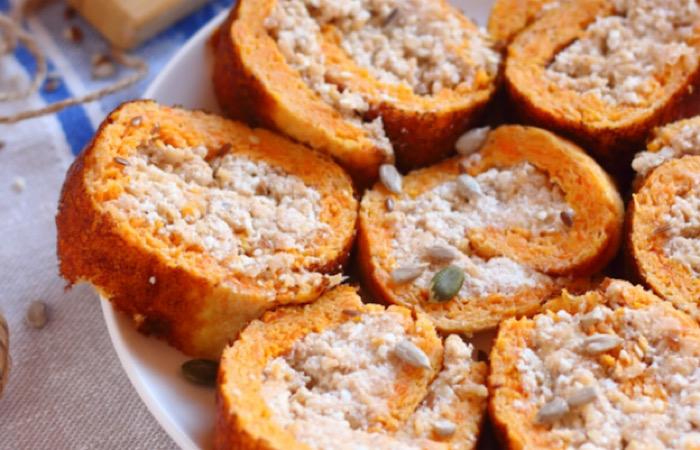 Вкуснейший диетический яблочно-морковный рулет