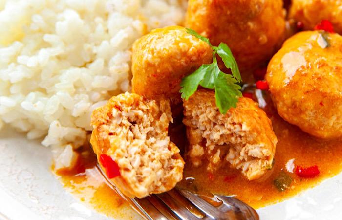 Обалденные куриные котлеты по-тайски