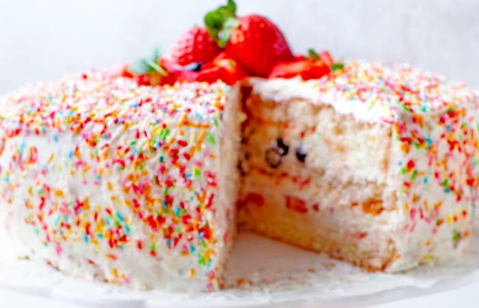 "Потрясающий тортик ""Конфетти"""