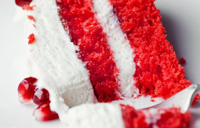 Вкуснейший красный кокосовый торт