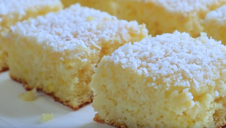 Нежные лимонные пирожные