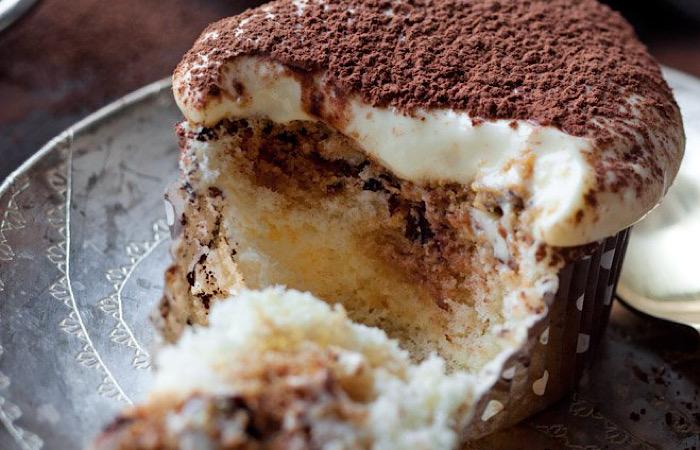 Восхитительные кексы с тирамису