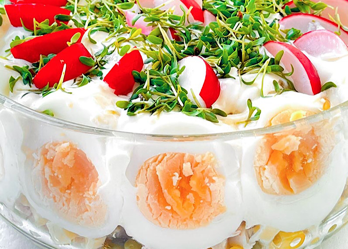 Вкуснейший Пасхальный салатик
