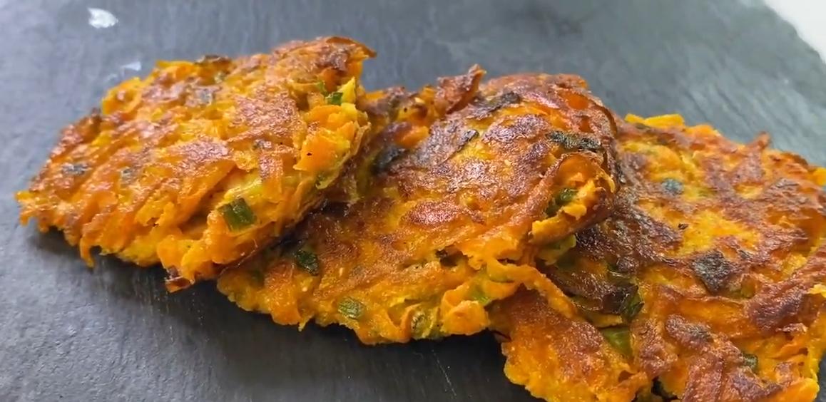 Постные морковные котлеты без яиц и манки