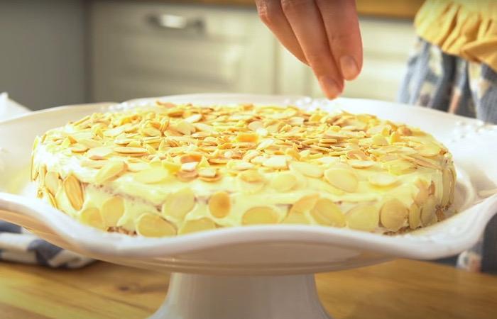 Бесподобный шведский торт с миндалем