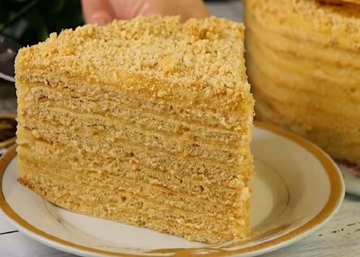 Отменный постный тортик с апельсиновым кремом