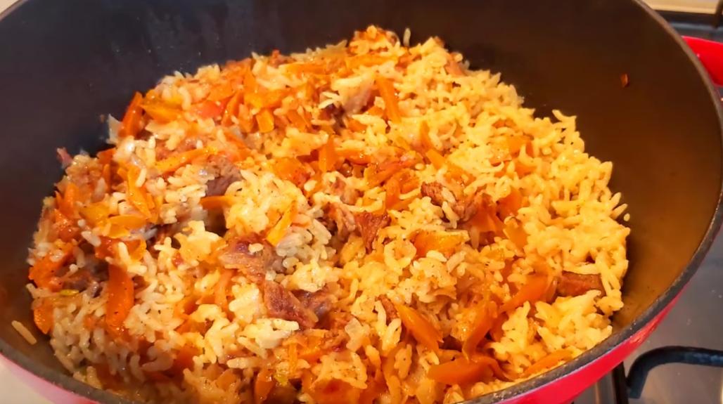 Рис с мясом: вкусное блюдо к ужину