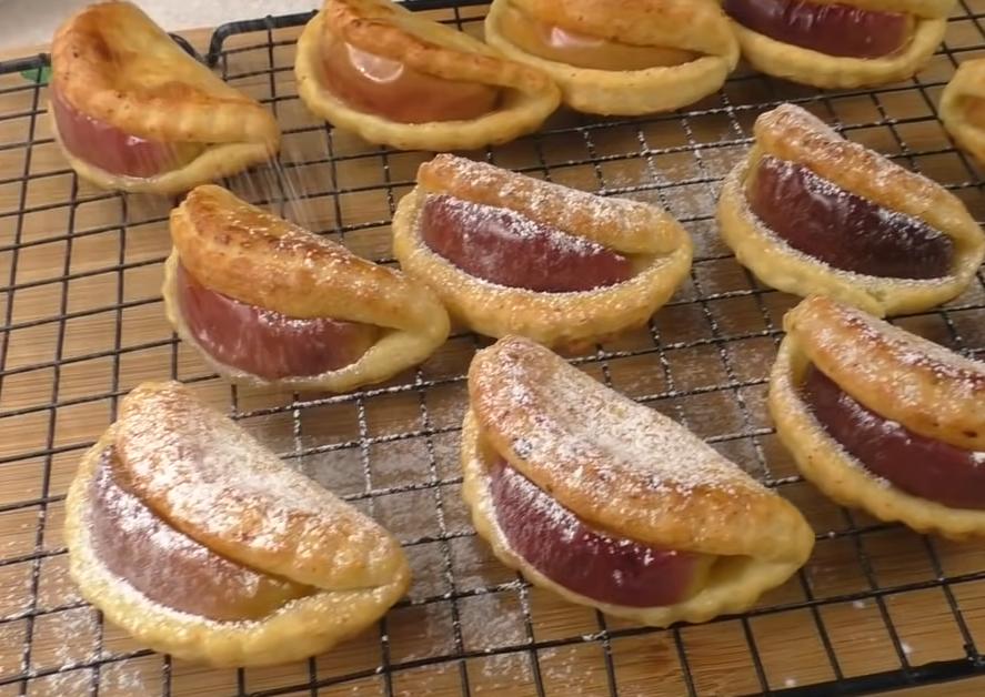 Восхитительное печенье с яблоками