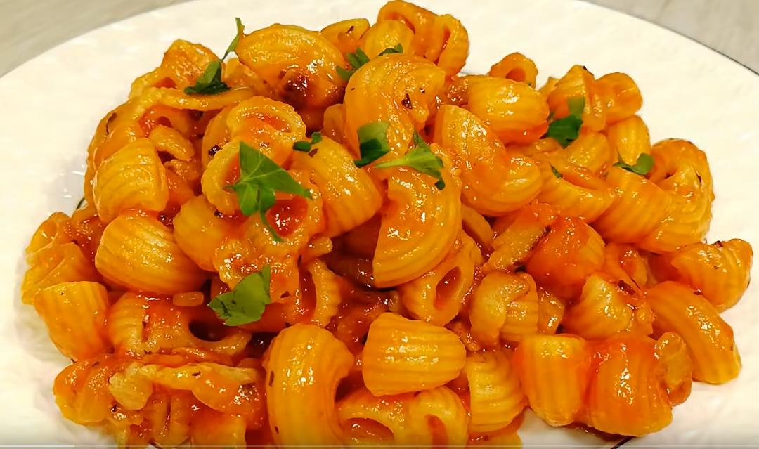 Восхитительное блюдо из макарон