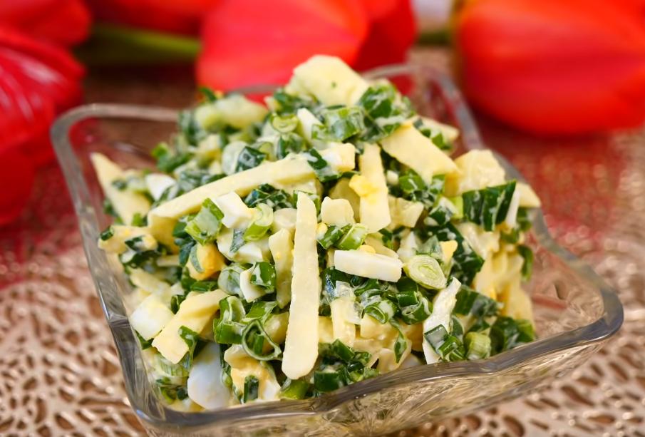 Топ-3 новых весенних салатов