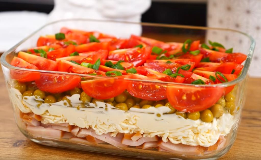 """Салат """"Прекрасный"""": отличное блюдо к празднику"""