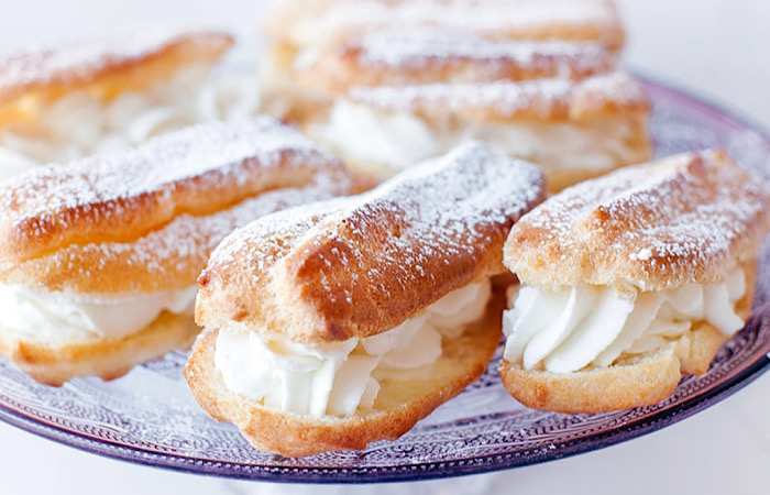 Вкуснейшие французские эклеры